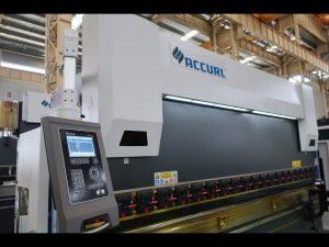 4 Aks CNC trykkbremsemaskin 175 tonn x 4000 mm CNC motorisert kroning