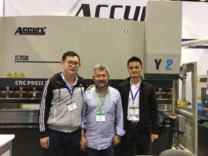 Accurl deltok i Chicago Machine Tool og Industrial Automation Exhibition i 2016