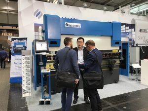 Accurl deltok i Hannover International Machine Tool Utstilling i Tyskland i 2017