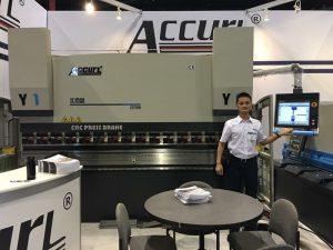 Accurl deltok i den amerikanske utstillingen i 2017