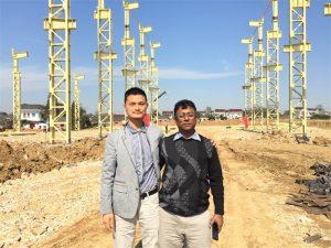 Bangladesh-kunder kommer til å besøke den nye fabrikken vi bygger