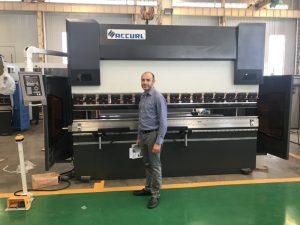 Iran Client Testing Machine i vår fabrikk 1