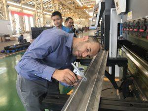 Iran Client Testing Machine i vår fabrikk 2