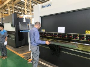 Iran Client Testing Machine i vår fabrikk 3
