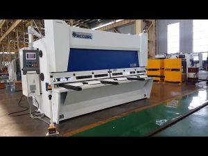 Master variabel rake guillotin skjære maskin med ELGO P40T CNC system