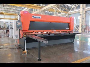 Master variabel rake med CNC hydraulisk guillotinskjuer MS8-10x4000mm