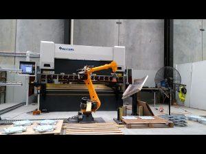 Robotisk CNC trykkbrems for robotbøyningssystem
