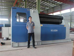 Thailand Kunder kjøper W12 Rolling Machine fra Accurl Company
