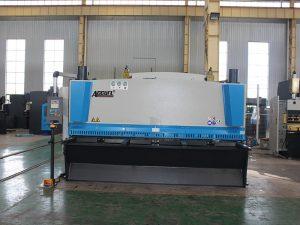 cnc hydraulisk skjærmaskinpris