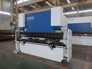 laget i Kina produsent 3 + 1 akse cnc trykkbrems, hydraulisk bøyemaskin til salgs