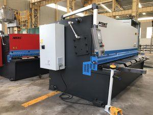 ce sertifisering cnc hydraulisk guillotinskjæringsmaskin
