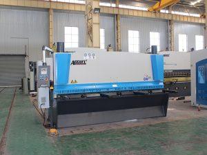 QC11y-8 * 3200 hydraulisk skjæringsmaskin til salgs med cnc-kontroll