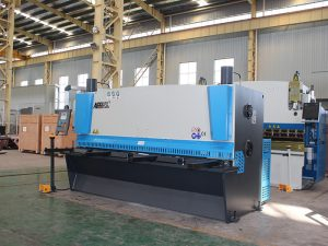 cnc hydraulisk metallplate skjære maskin, hydraulisk skjære maskin, QC12y-4X2500 E21s
