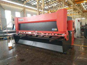 presisjon hydraulisk guillotin skjære maskin