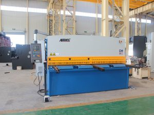 ny design hydraulisk skjær guillotine maskin, guillotin skjære maskin