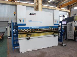 standard industriell press brems, cnc hydraulisk press bremse maskin leverandører fra Kina