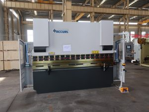 ESTUN E21 Bredt eksportert WC67K 160T / 3200 stålplate bøyemaskin press bremsepris 3 meter bøyemaskin